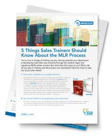 5 Things Sales Trainers Should Know About The MLR Process