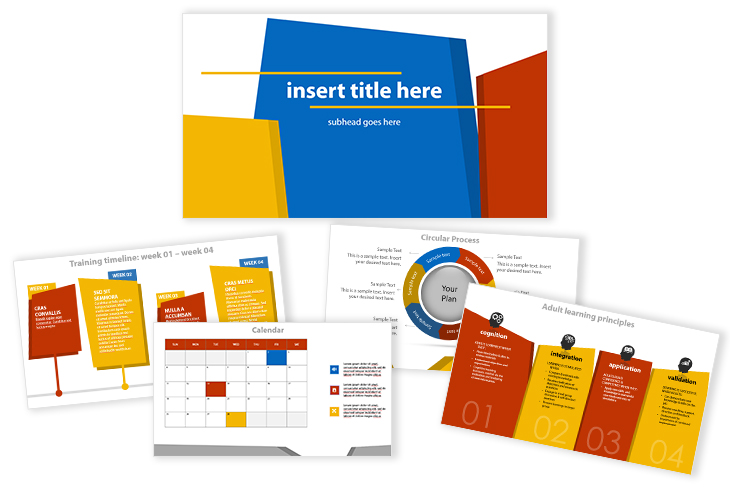 2020 Sales Training Plan Slide Templates